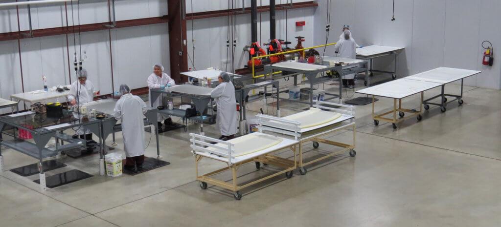 AGP Plastics Factory Floor