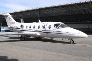 Beechjet 400A aircraft
