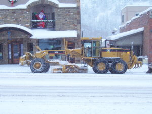 Caterpillar Snow Grader